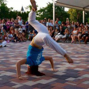 capoeira akrobatika