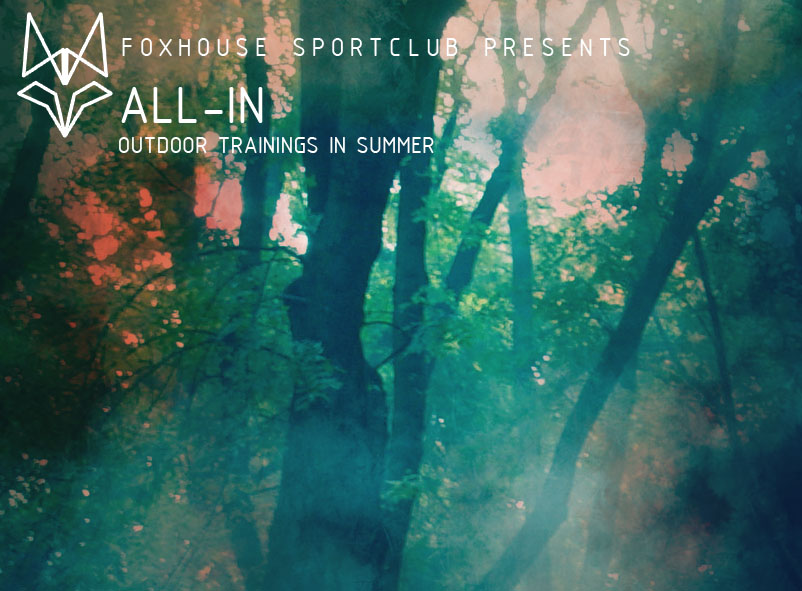 Foxhouse Sportclub egyesület rendezvény plakát